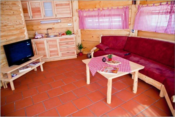 Wooden house Manuela