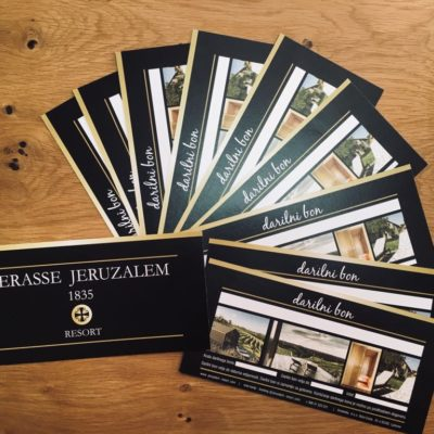 Darilni bon Terasse Jeruzalem Resort, Terasse Jeruzalem Resort Gift Card